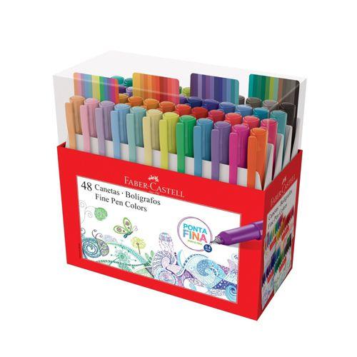 Estojo Fine Pen Colors - 48 cores