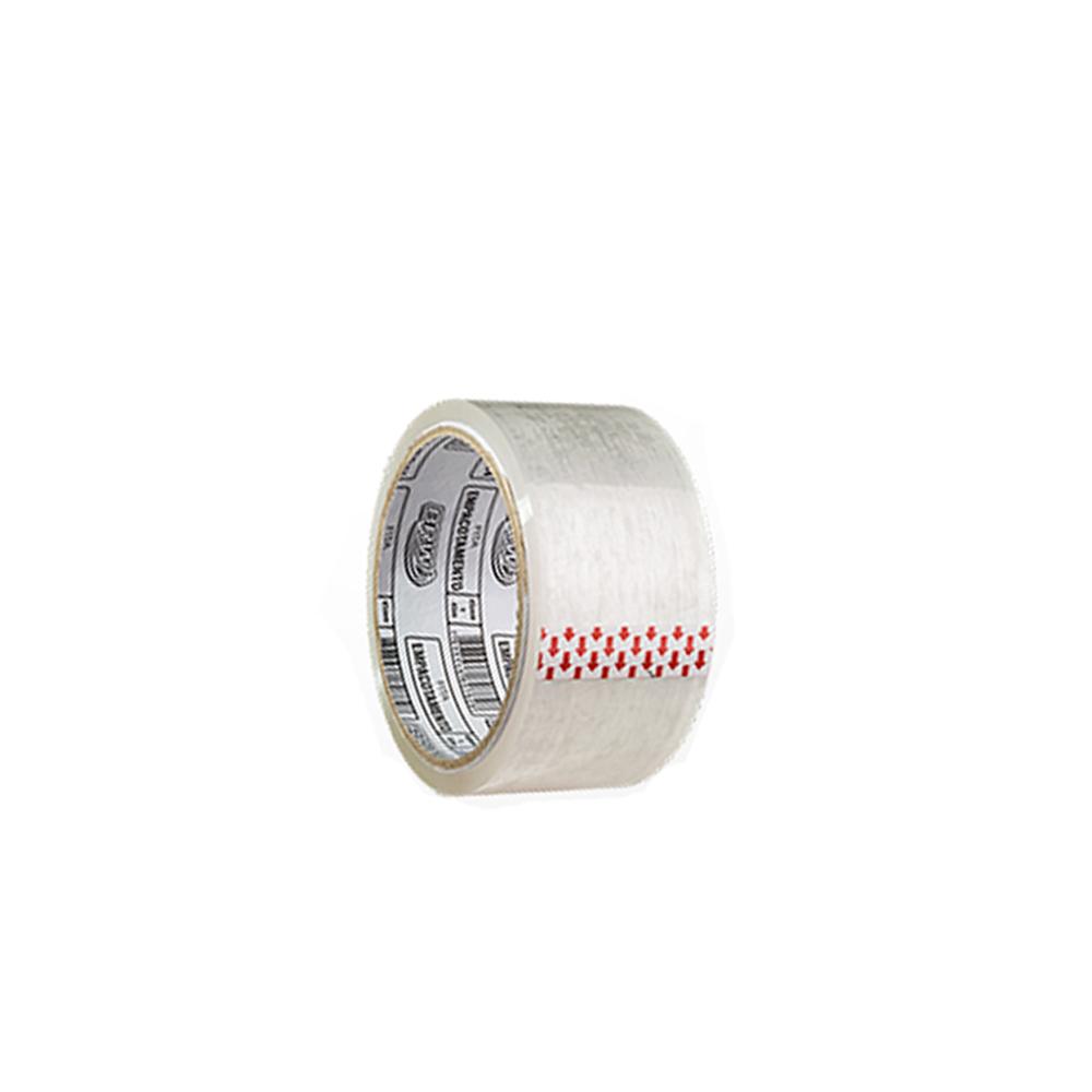 Fita Adesiva Transparente BRW 48mm x 50m  - Papel Pautado