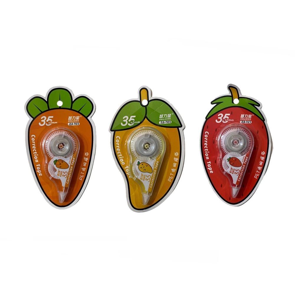 Fita Corretiva Fruta/ Legumes 35x5mm  - Papel Pautado