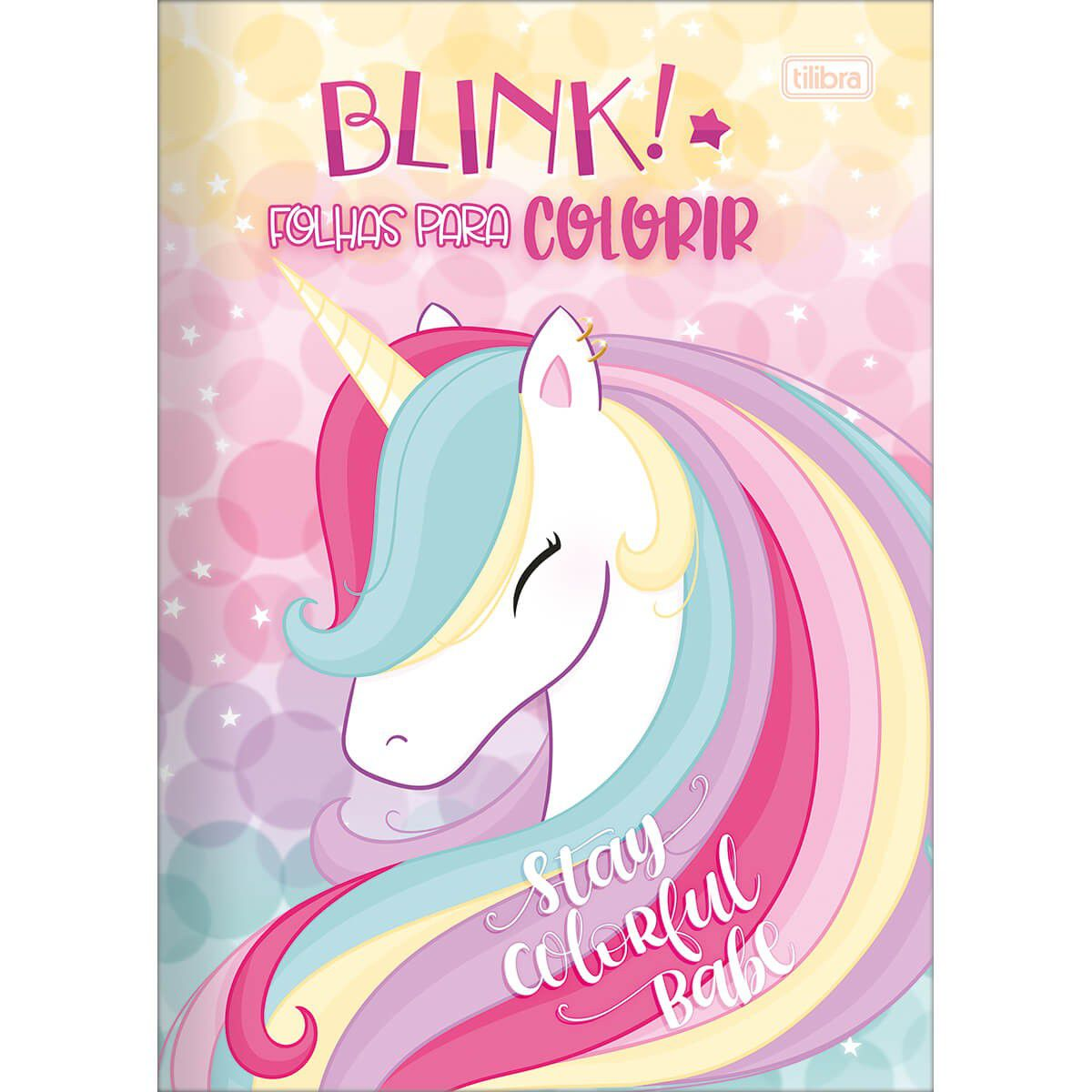 Folhas para Colorir Blink
