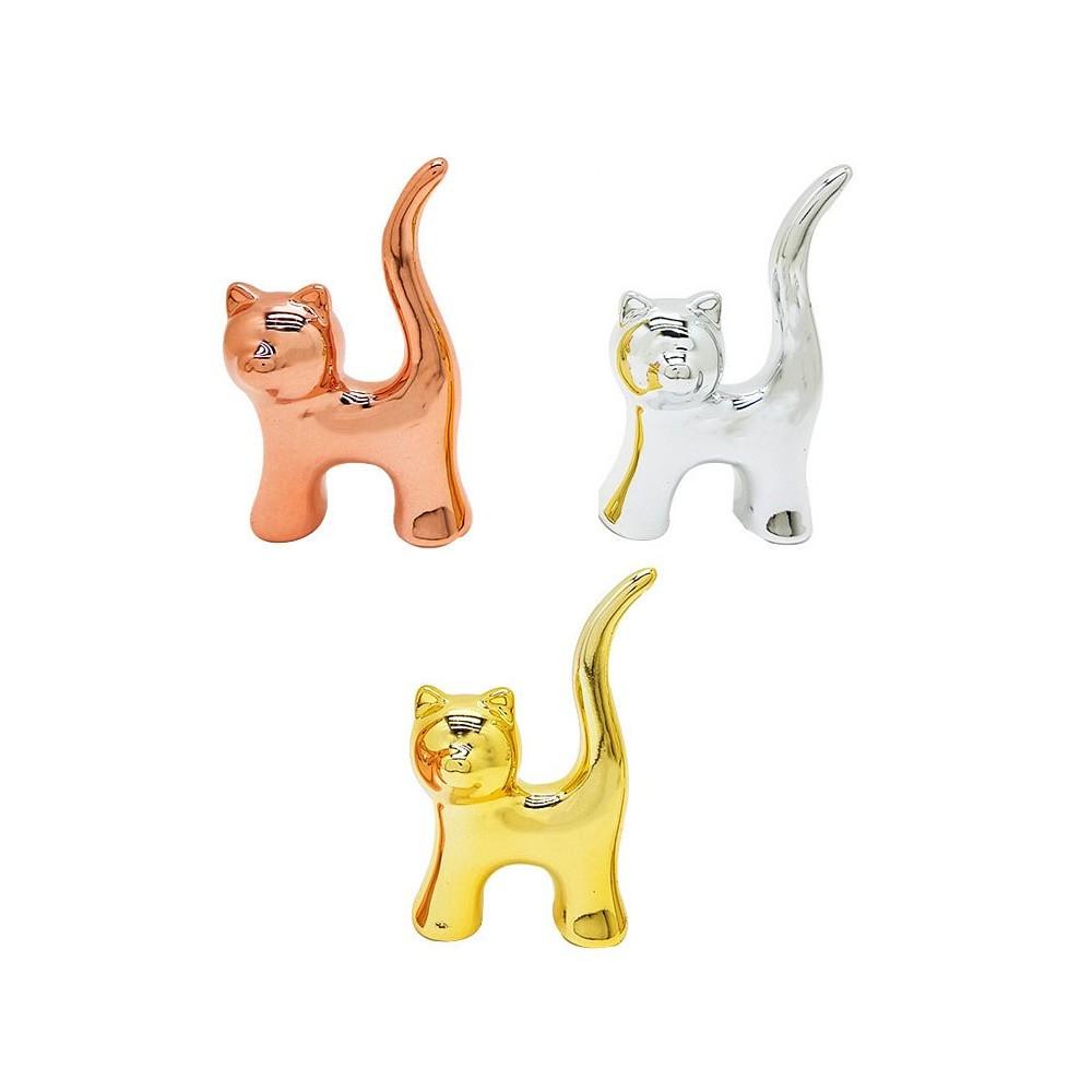 Gato de Cerâmica 7cm  - Papel Pautado