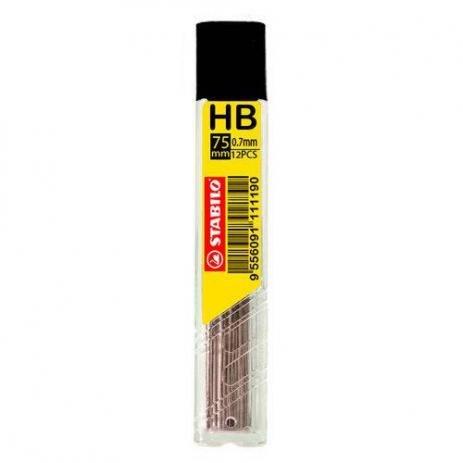 Grafite para Lapiseira Stabilo HB 0.7mm  - Papel Pautado