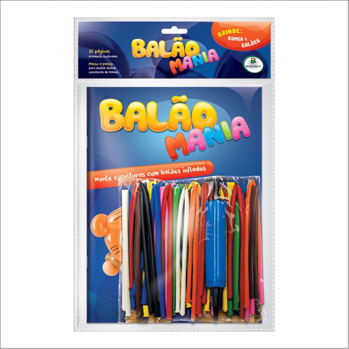 Kit Livro Balão Mania