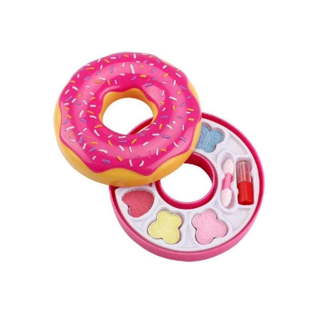 kit Maquiagem Infantil Donuts  - Papel Pautado
