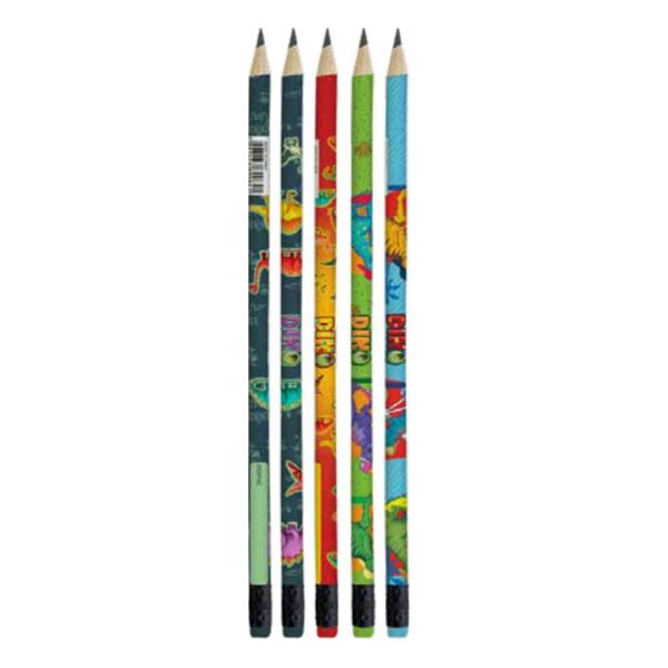 Lápis Preto Dino Tris  - Papel Pautado