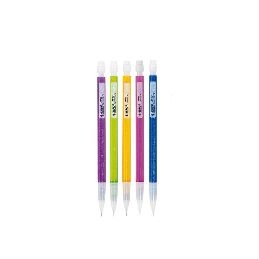 Lapiseira Bic Shimmers 0,7mm  - Papel Pautado
