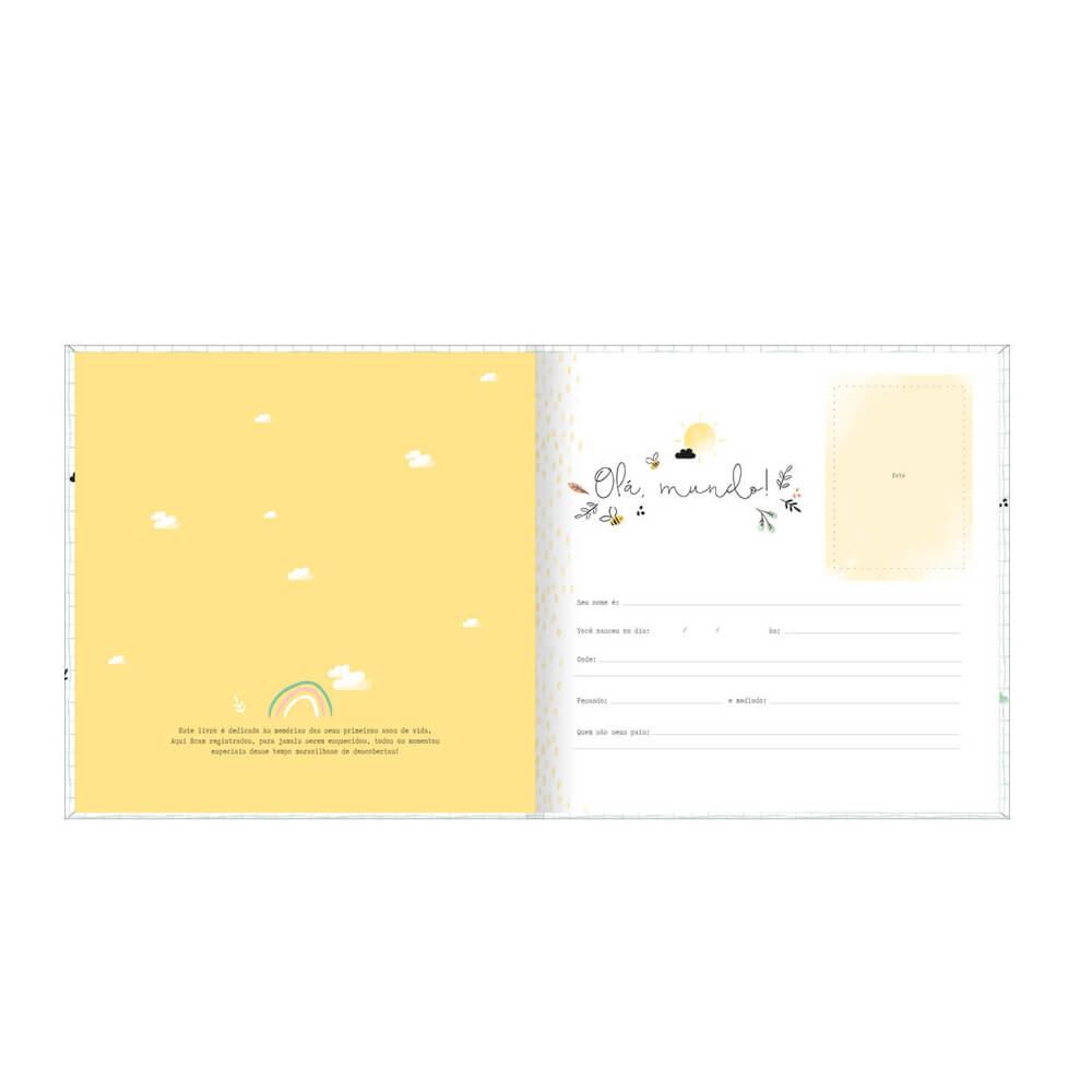 Livro do Bebê Tilibra  - Papel Pautado