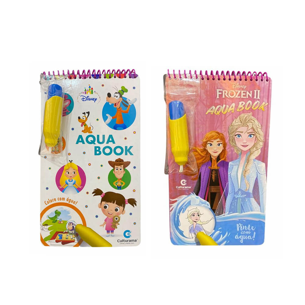 Livro Infantil Aqua Book  - Papel Pautado