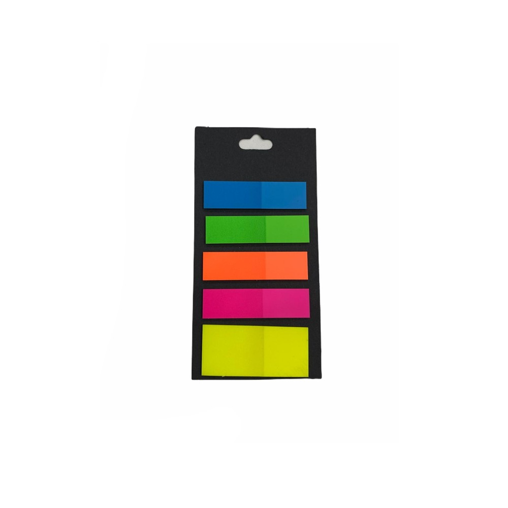 Marca Página Sticky Notes Neon  - Papel Pautado