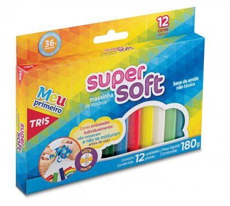 Massa de Modelar Super Soft Tris  - Papel Pautado