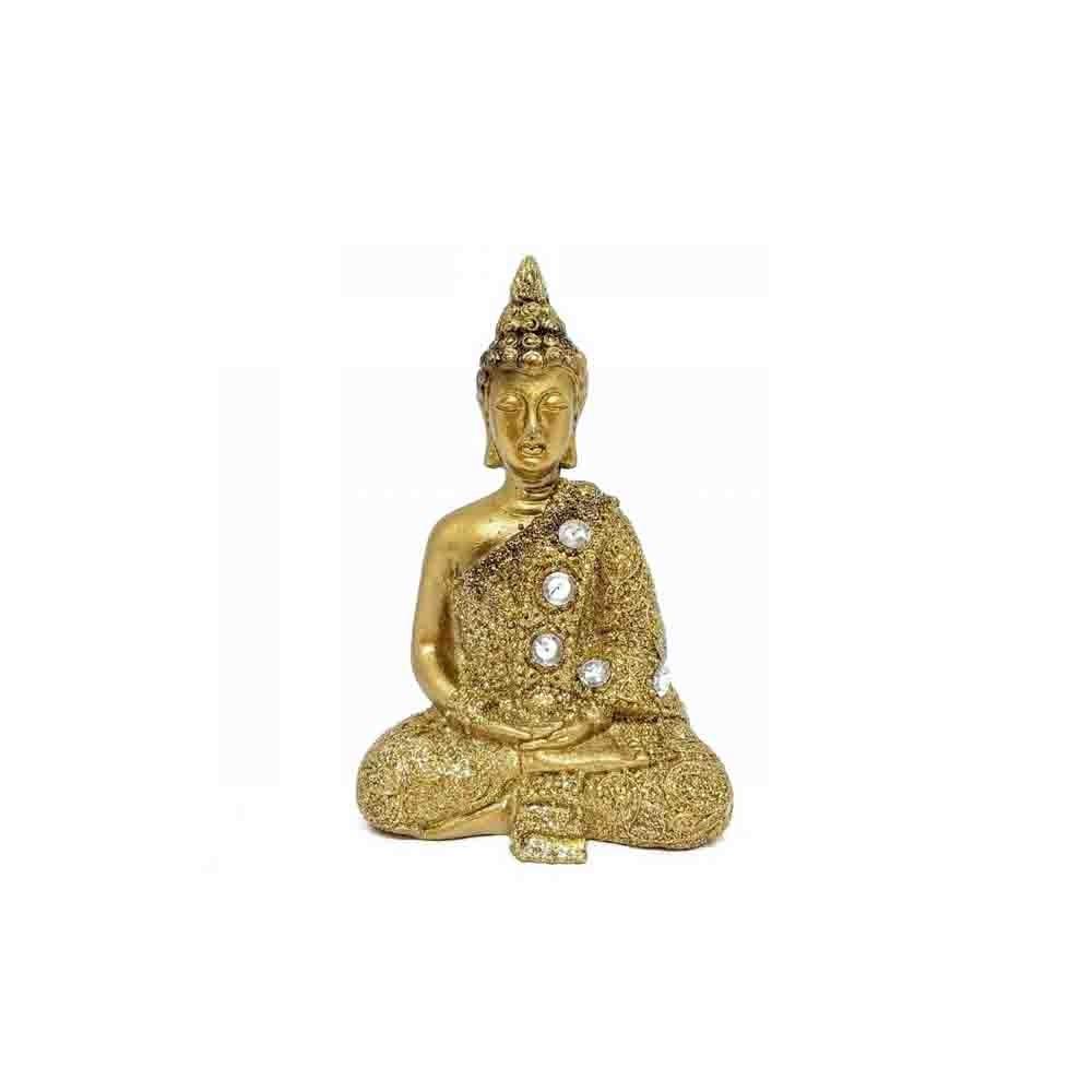 Mini Buda de Resina 8,5cm  - Papel Pautado