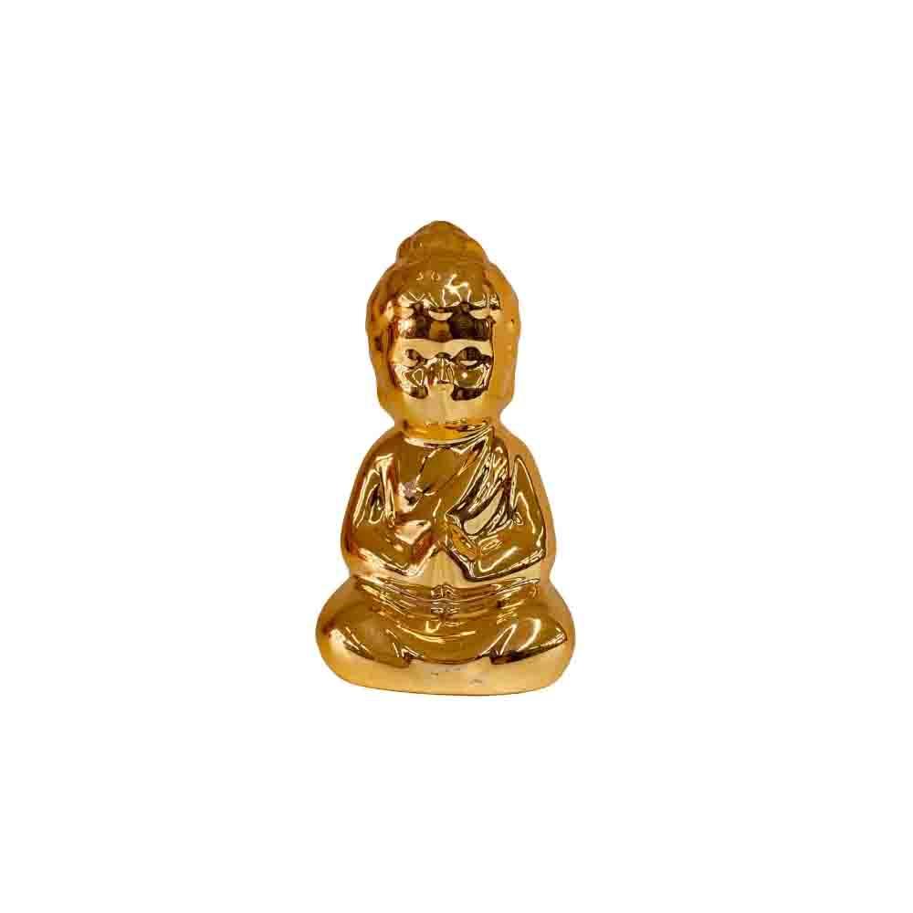 Mini Buda Dourado 8,5cm  - Papel Pautado