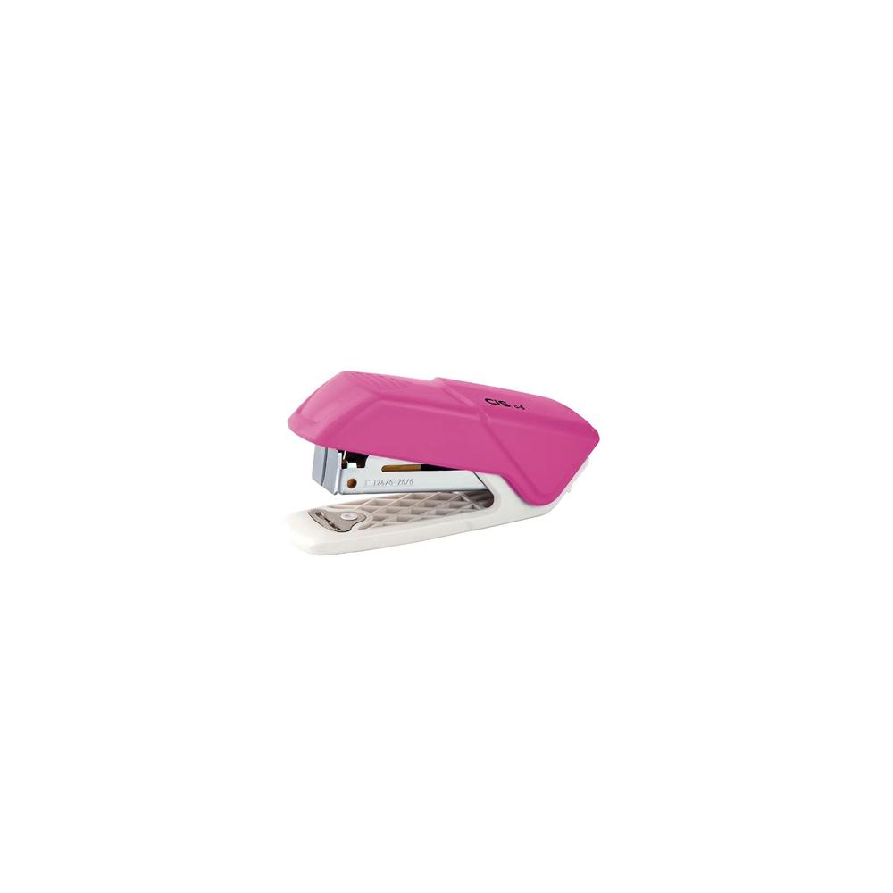Mini Grampeador C-6 Cis Rosa  - Papel Pautado