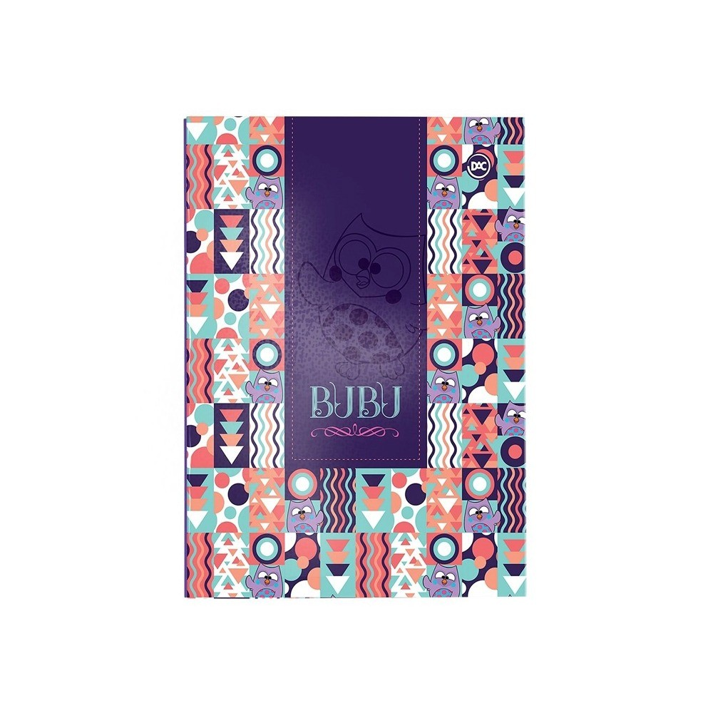 Pasta Catálogo Dac Bubu  - Papel Pautado