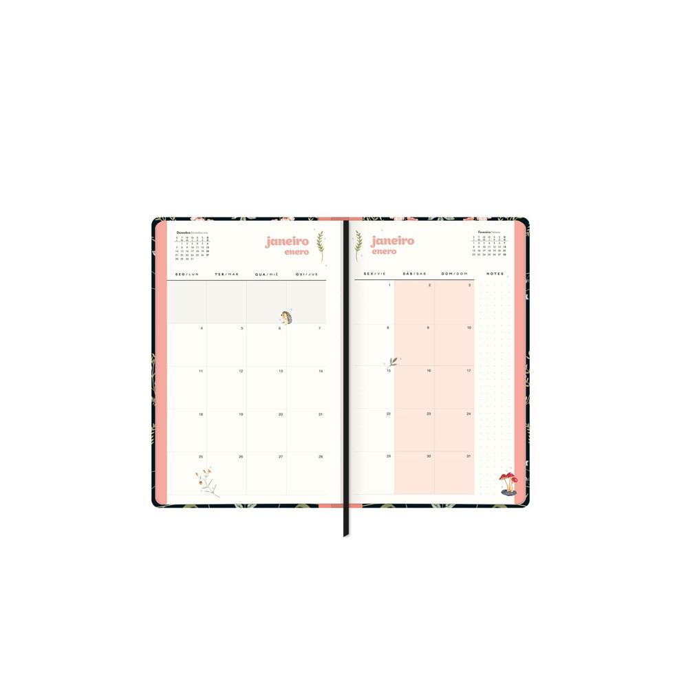 Planner Costurado Capricho 2021  - Papel Pautado