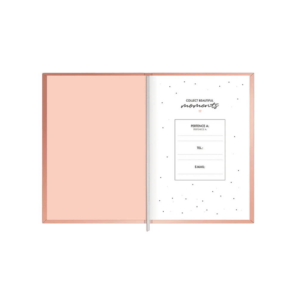Planner Costurado Metalizado West Village Tilibra 2021  - Papel Pautado