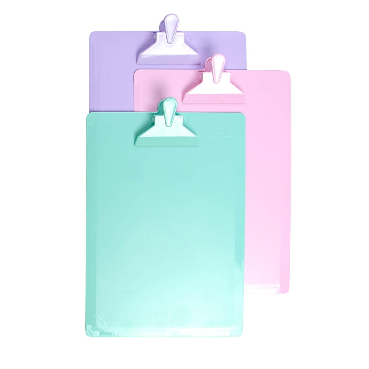 Prancheta Ofício Dello Color Serena  - Papel Pautado