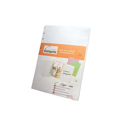 Refil Caderno Inteligente - Grande  - Papel Pautado