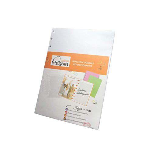 Refil Caderno Inteligente - Médio  - Papel Pautado