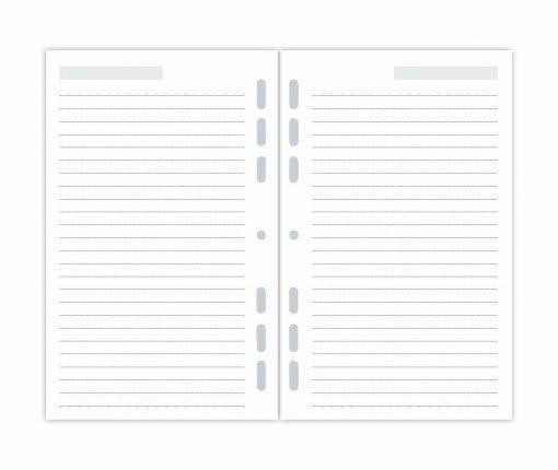 Refil Planner Maxi Pautado