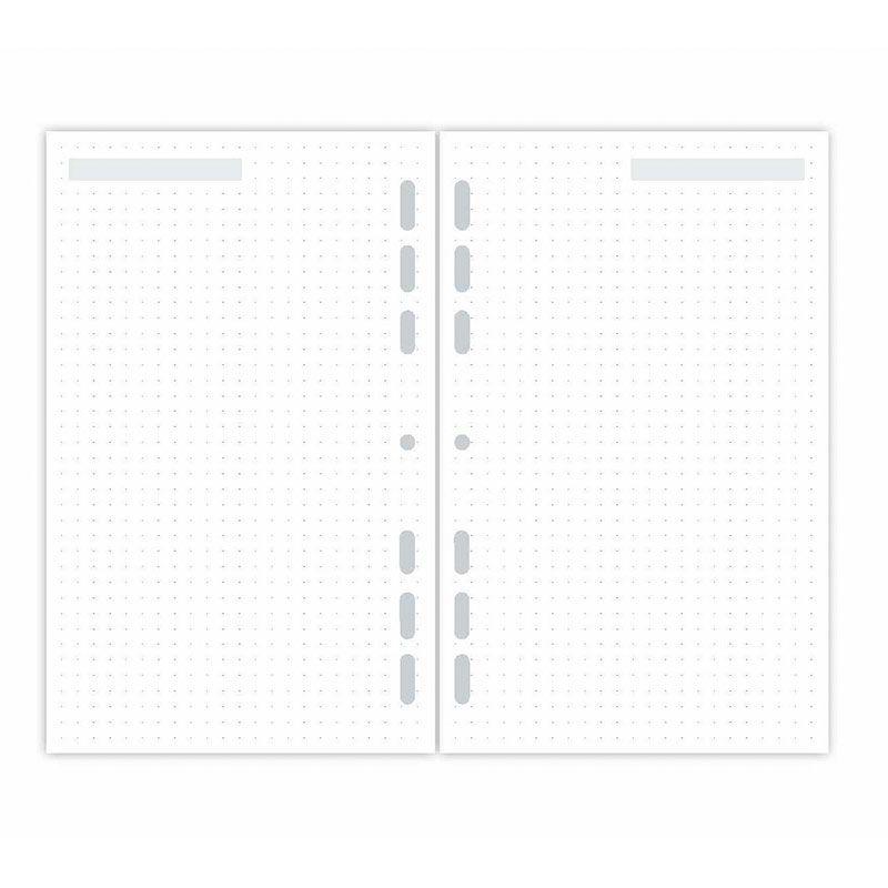 Refil Planner Maxi Pontilhado