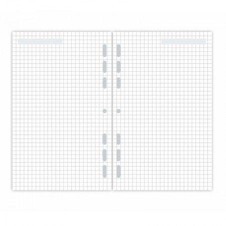 Refil Planner Maxi Quadriculado