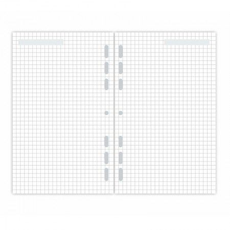 Refil Planner Maxi Quadriculado  - Papel Pautado
