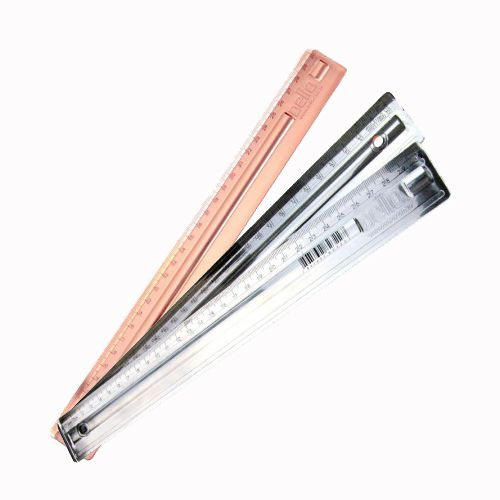 Régua 30 cm Dello Metalizada  - Papel Pautado