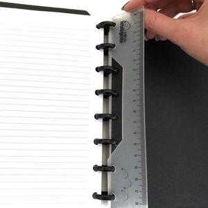 Régua Caderno Inteligente  - Papel Pautado