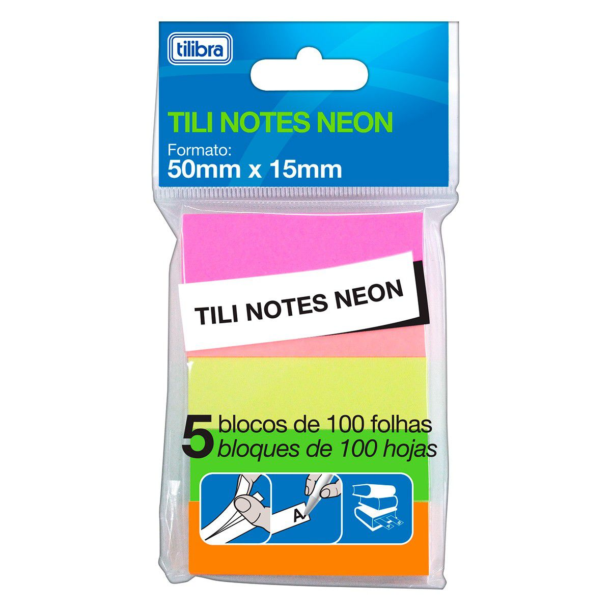 Tili Notes Neon 50mm x 15mm