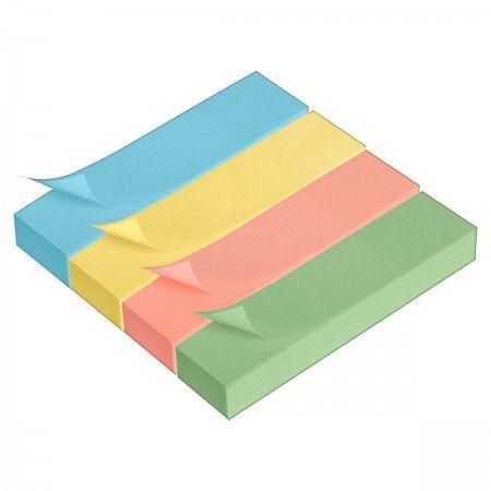 Tili Notes Tons pastéis 76mm x 19mm  - Papel Pautado