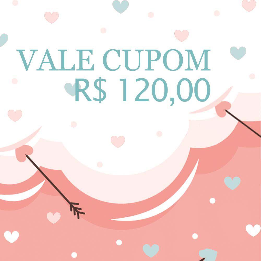 Vale Cupom R$120,00