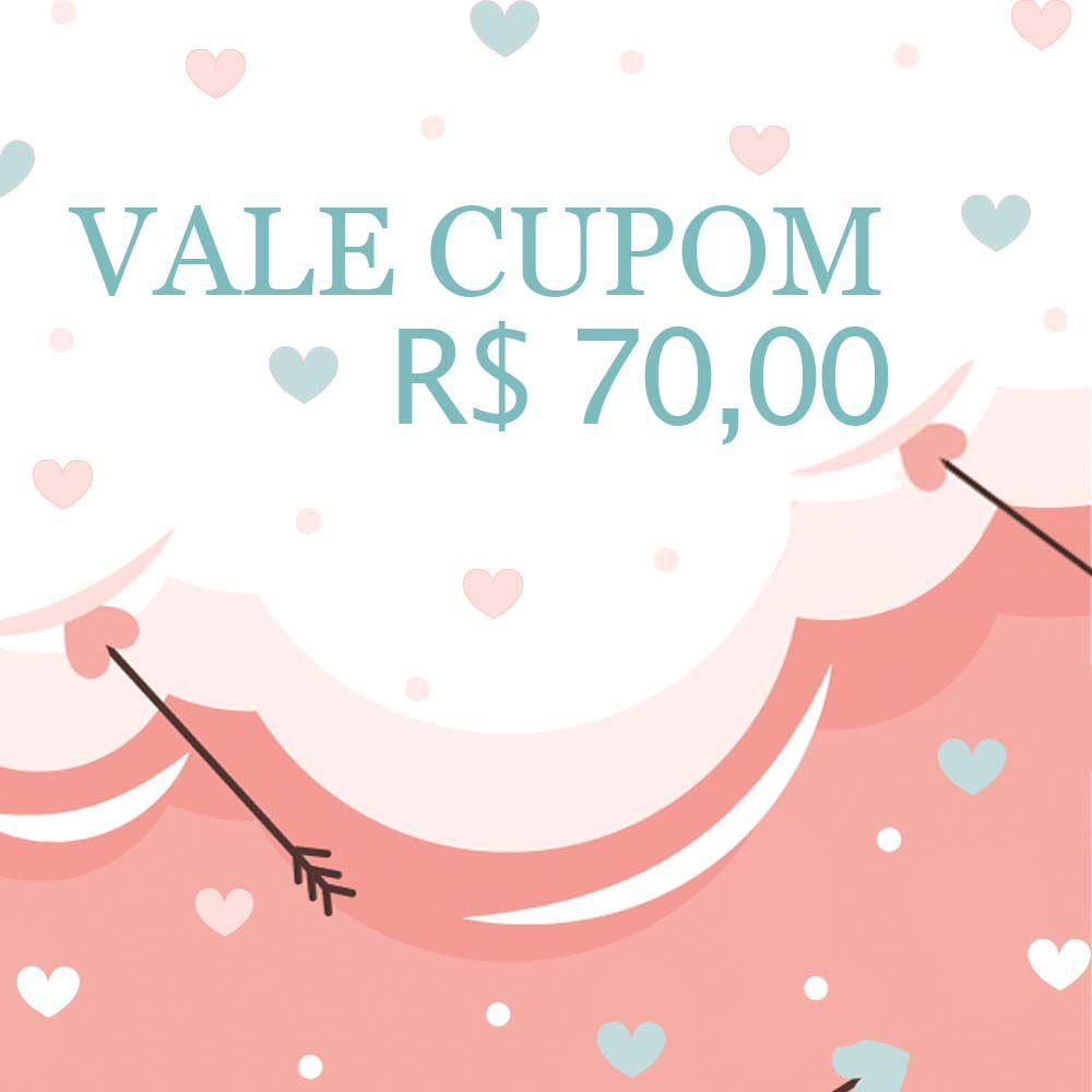 Vale Cupom R$70,00
