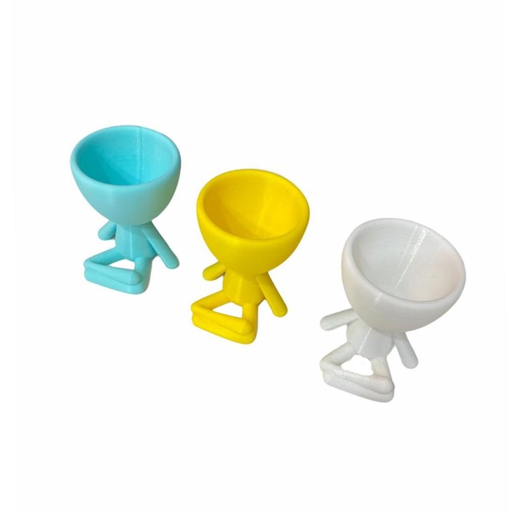 Vaso Mini Bob Meditando 3D  - Papel Pautado