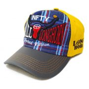 Boné Country Longhorn Infinity Aba Curva Edição Limitada - Bordado de Precisão e Ajuste de Tamanho