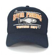 Boné Country Pescaria River Fishing Western Dep Masculino Feminino Aba Curva Trucker