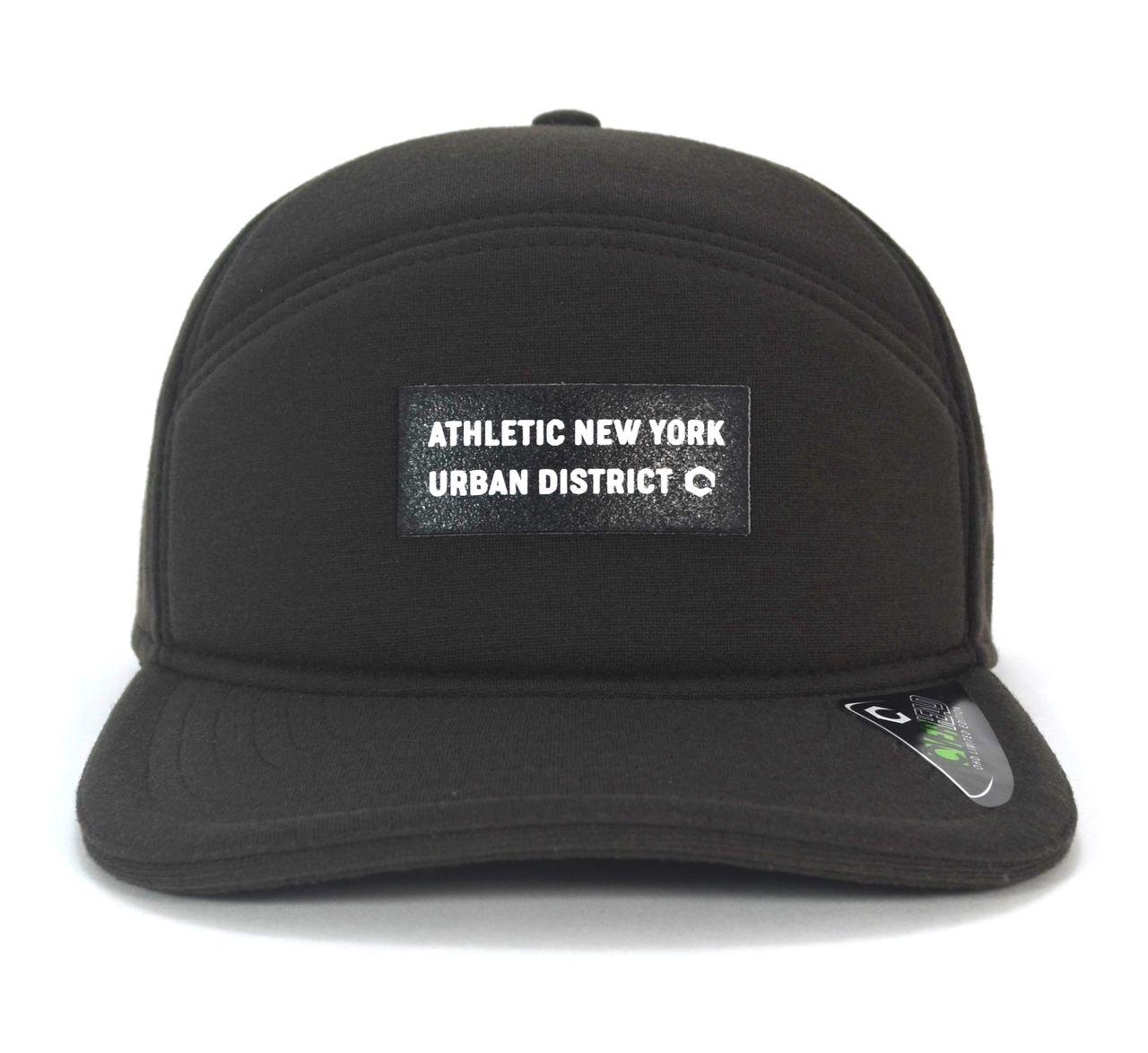 Boné 5 Panel New York Urban Aba Reta Unisex Snapback Dark Brown