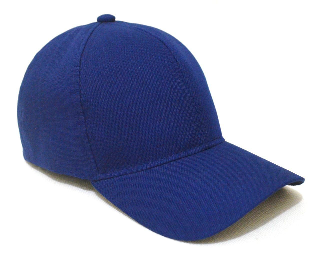 Boné Azul Marinho Liso Sem Estampa Unissex Aba Curva - Super Leve e com  Ajuste de b742855de68