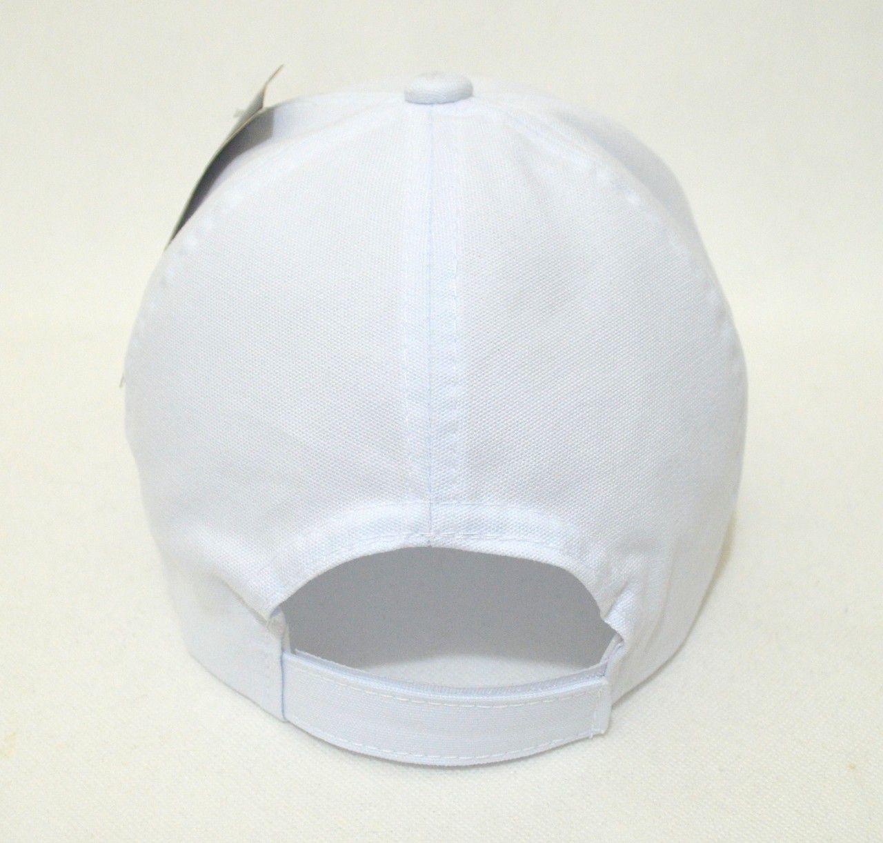 Boné Branco Liso Unisex Super Leve Top - Aba Curva
