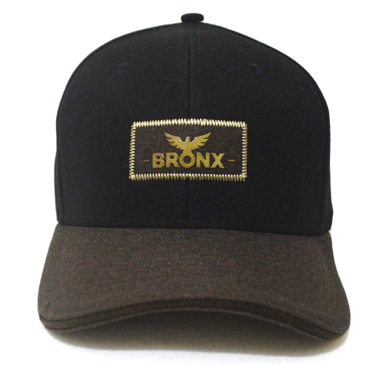 Boné Bronx Aba Curva Duas Cores Casual Snapback