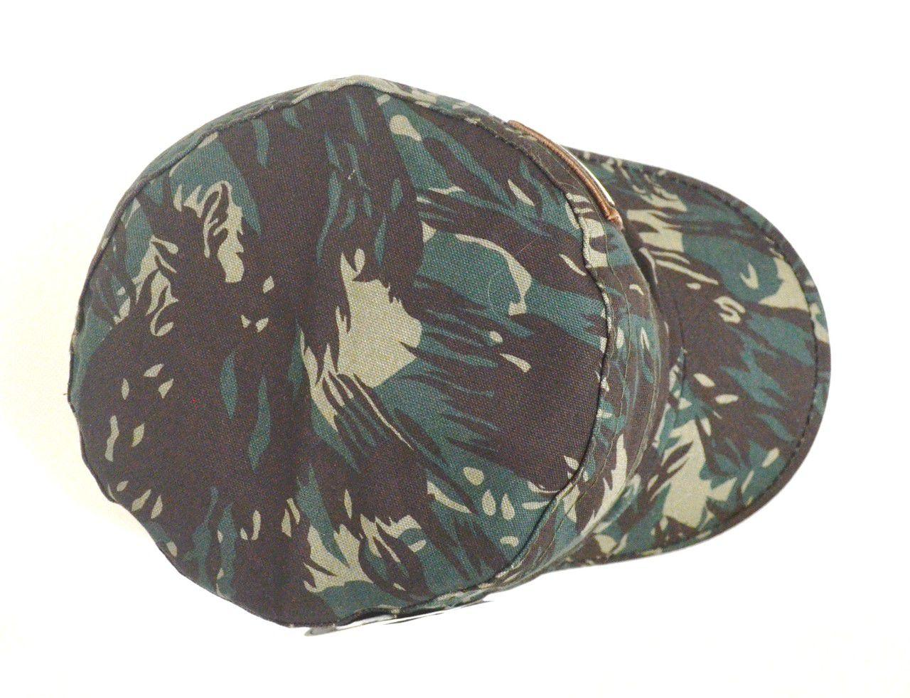 Boné Cap Camuflado Militar Unisex Aba Curva - Com Regulagem de Tamanho