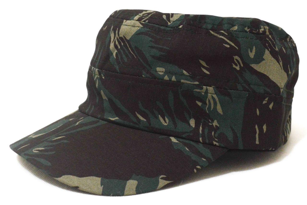 Boné Cap Militar Camuflado Aba Curva Unissex Super Leve