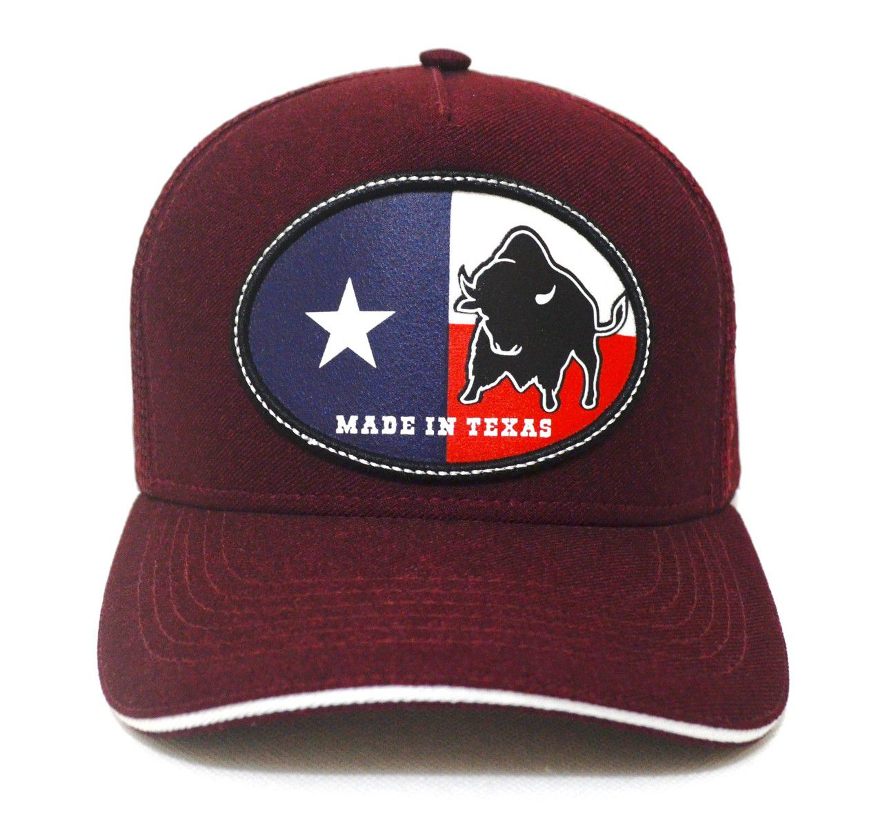 Boné Country Made in Texas Aba Curva Trucker Tela Unissex 10ae46be586b5