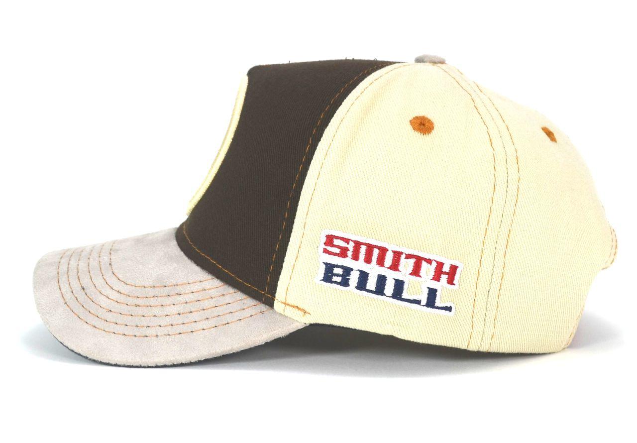 Boné Country Smith Bull Rodeio Aba Curva Masculino Feminino com Regulagem de Tamanho