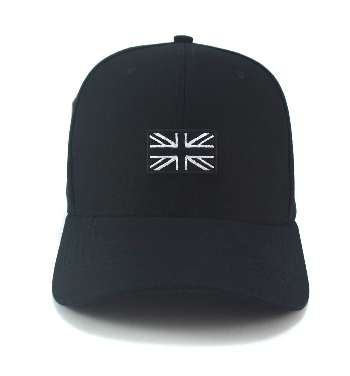 Boné Inglaterra Preto Aba Curva Mini Flag Unissex England