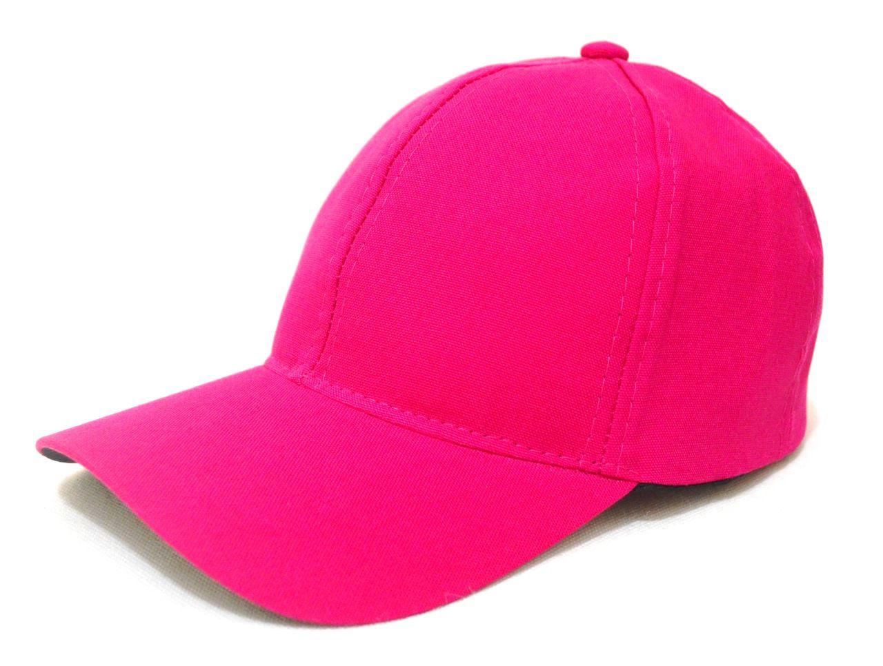 Boné Rosa Pink Liso Aba Curva Unissex com Regulagem de Tamanho - Super Leve f6168614fa2