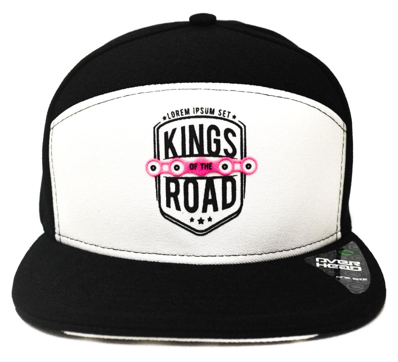Boné Skate Bmx Aba Reta Kings Of The Road Freestyle Snapback