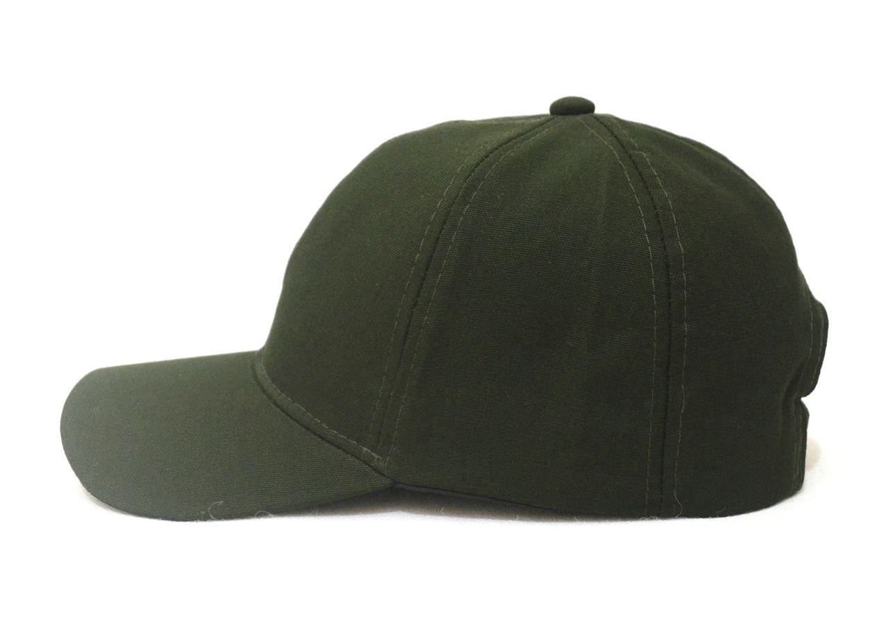Boné Verde Militar Liso Aba Curva Super Leve e com Ajuste de Tamanho