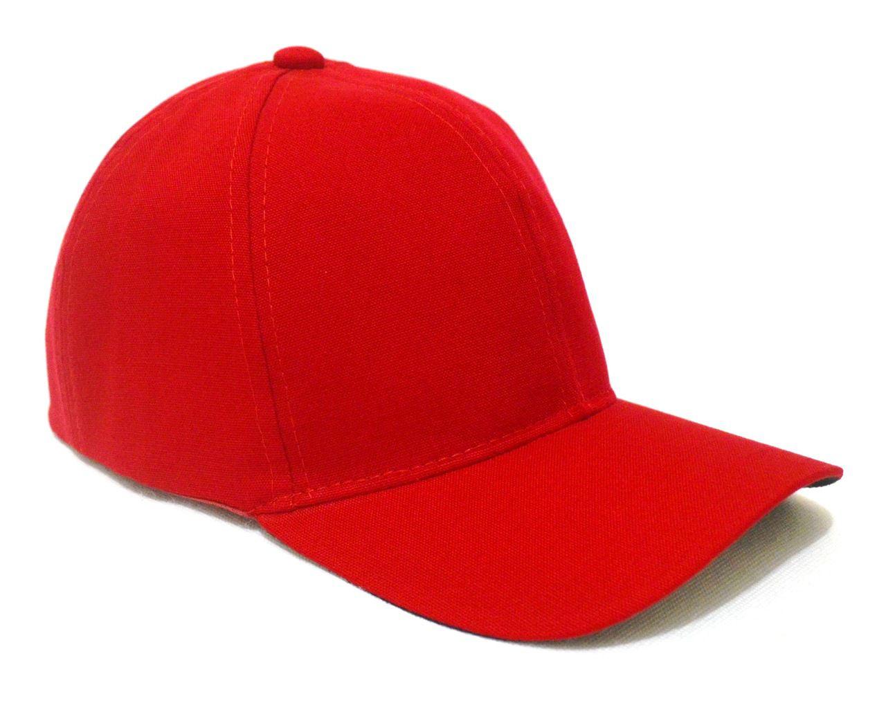 Boné Vermelho Liso Unisex Aba Curva - Super Leve e com Ajuste de Tamanho 432e7c78b91
