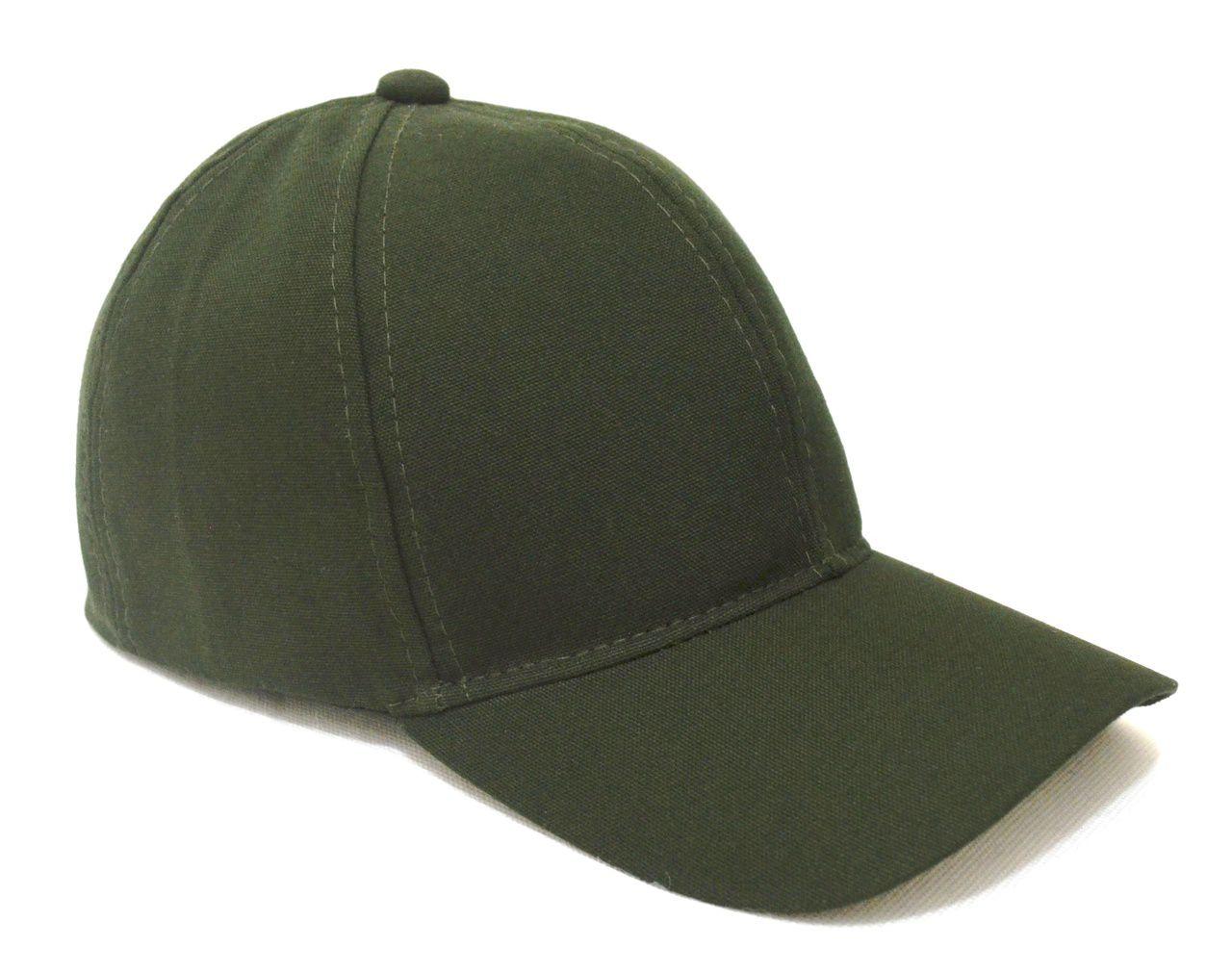 Kit 2 Bonés Verde Militar Liso Aba Curva Unissex Super Leve Top